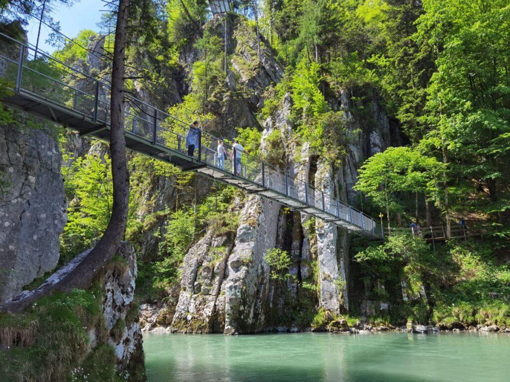 Die Klobenstein Hängebrücke wollen die meisten Besucher sehen