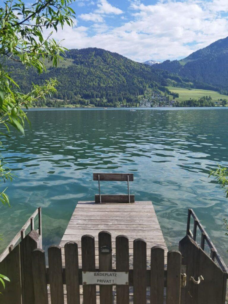 Du kannst den See in Tirol nur gegen Bezahlung nutzen