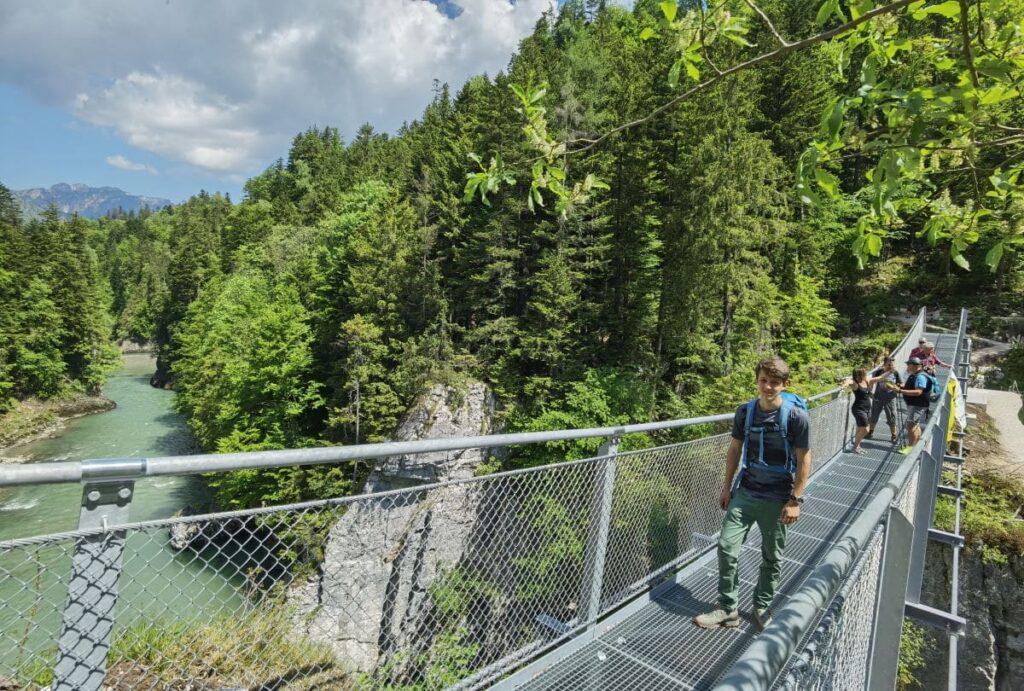 Schmugglerweg Kössen - beliebte Wanderung zwischen Tirol und Bayern